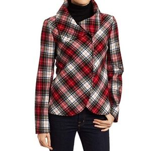 Lucky Brand Kennedy plaid jacket EUC